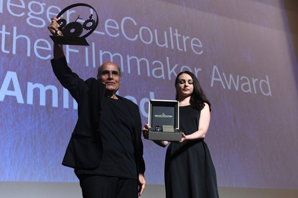 Jaeger-LeCoultre Glory To The Filmmaker 2016 Award Honors Amir Naderi - Jaeger-LeCoultre Collection